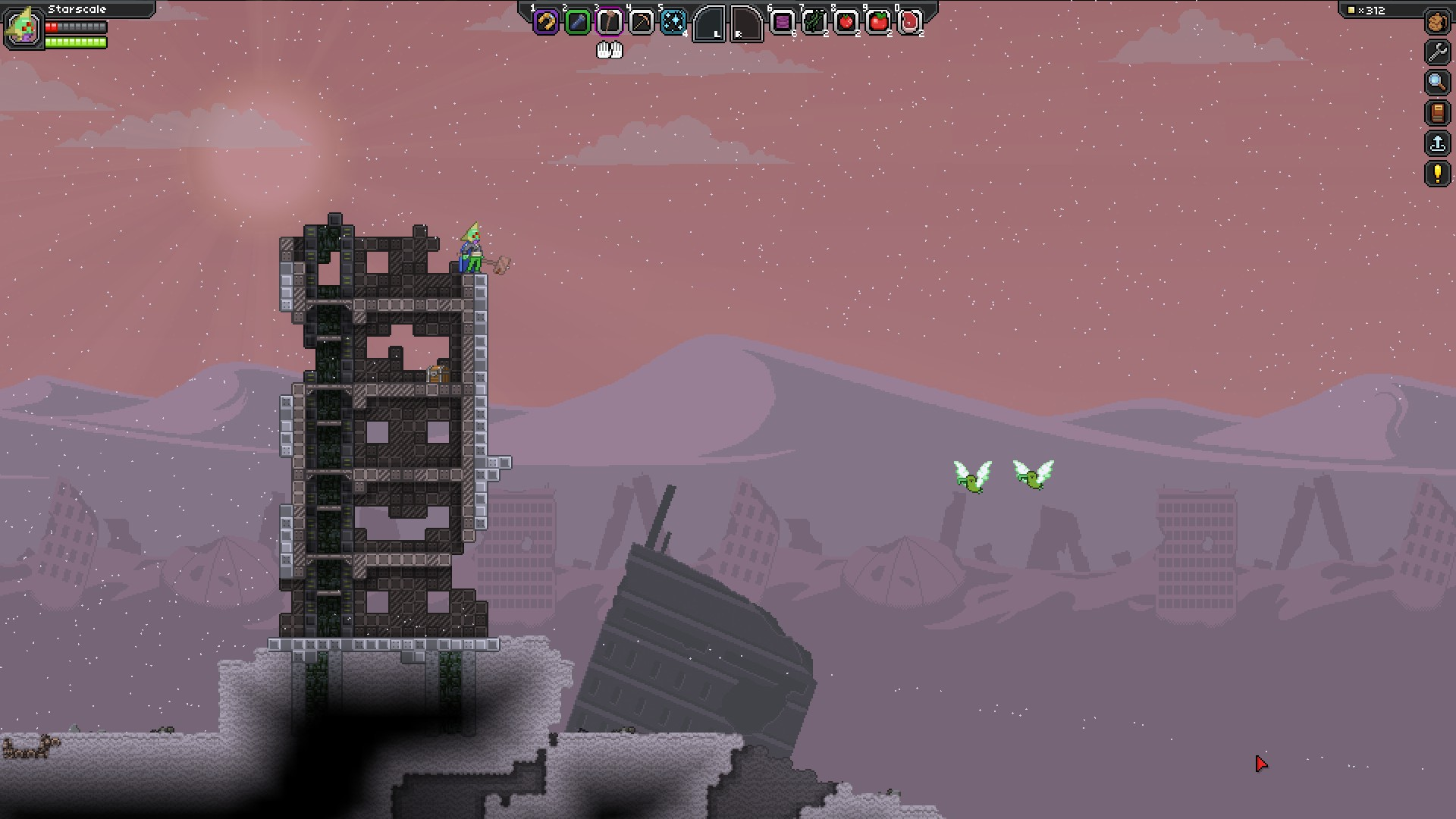 Starbound: Wasteland Planets (Пустоши)