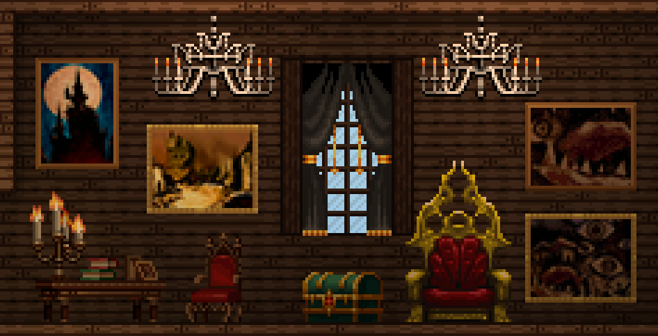 Castlevania 11 more stuff chucklefish forums fixed chandelier position and made it animated a bit mozeypictures Image collections
