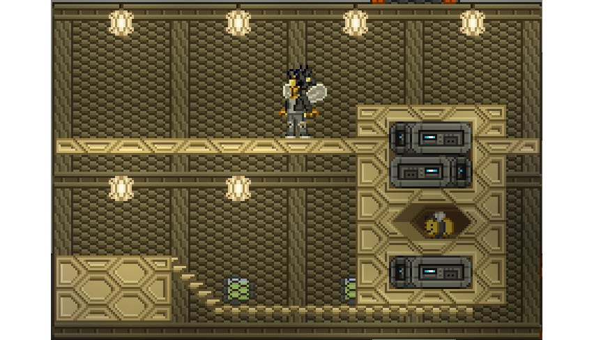 Wasp Hive racemod | Chucklefish Forums