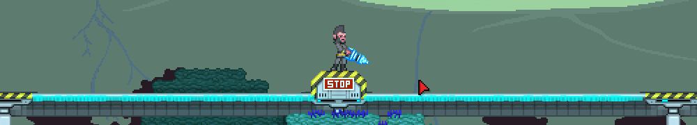 Starbound: Graviton Rails (Грави-рельсы)