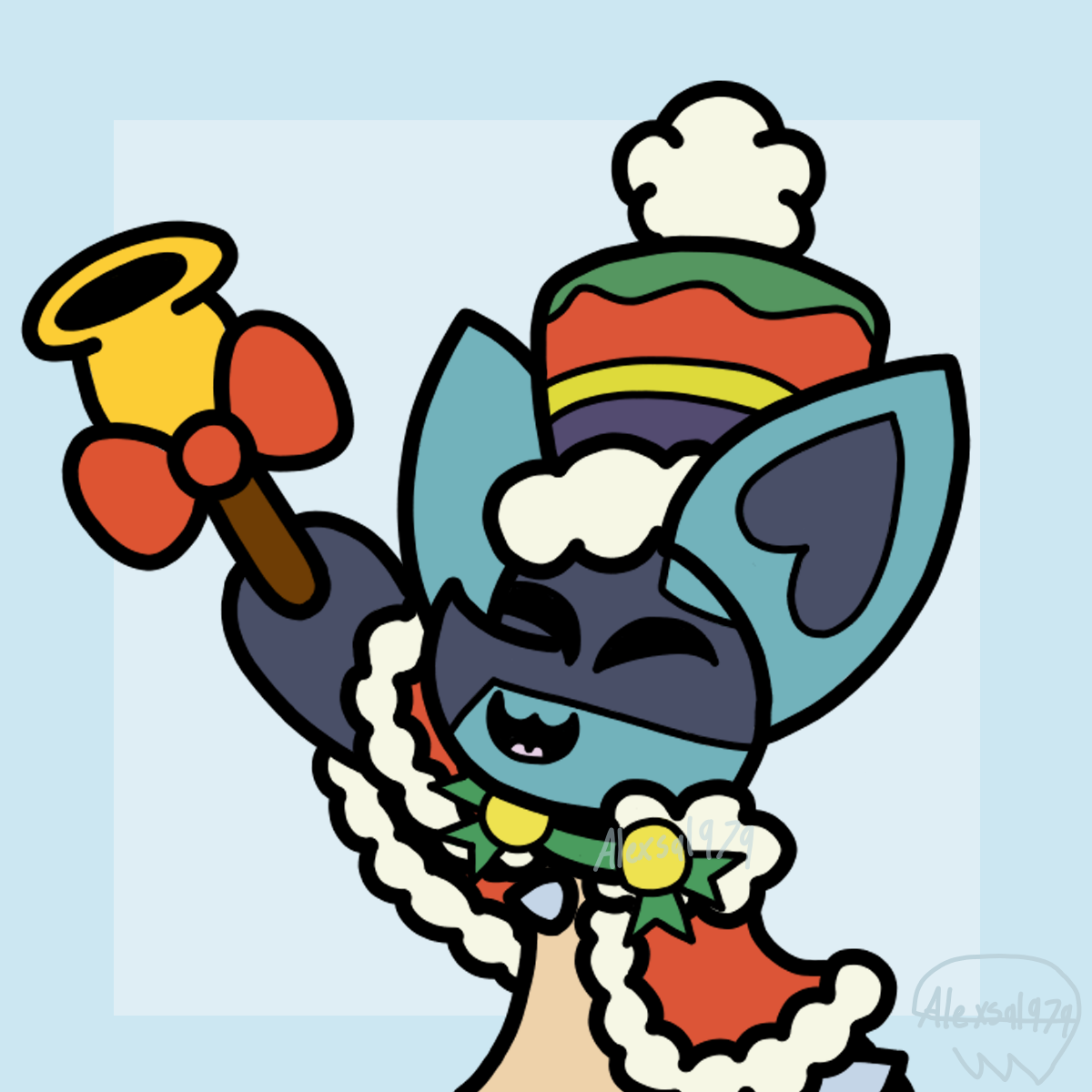 Holyday lucario Wtermark.png