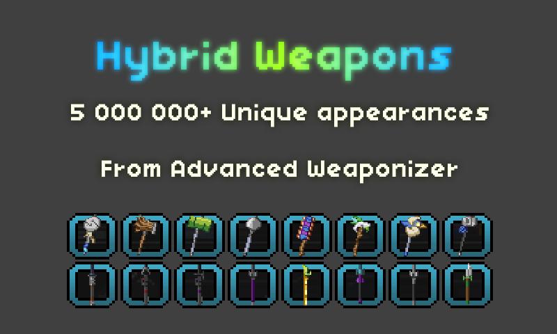 Weapon Megapack | Chucklefish Forums