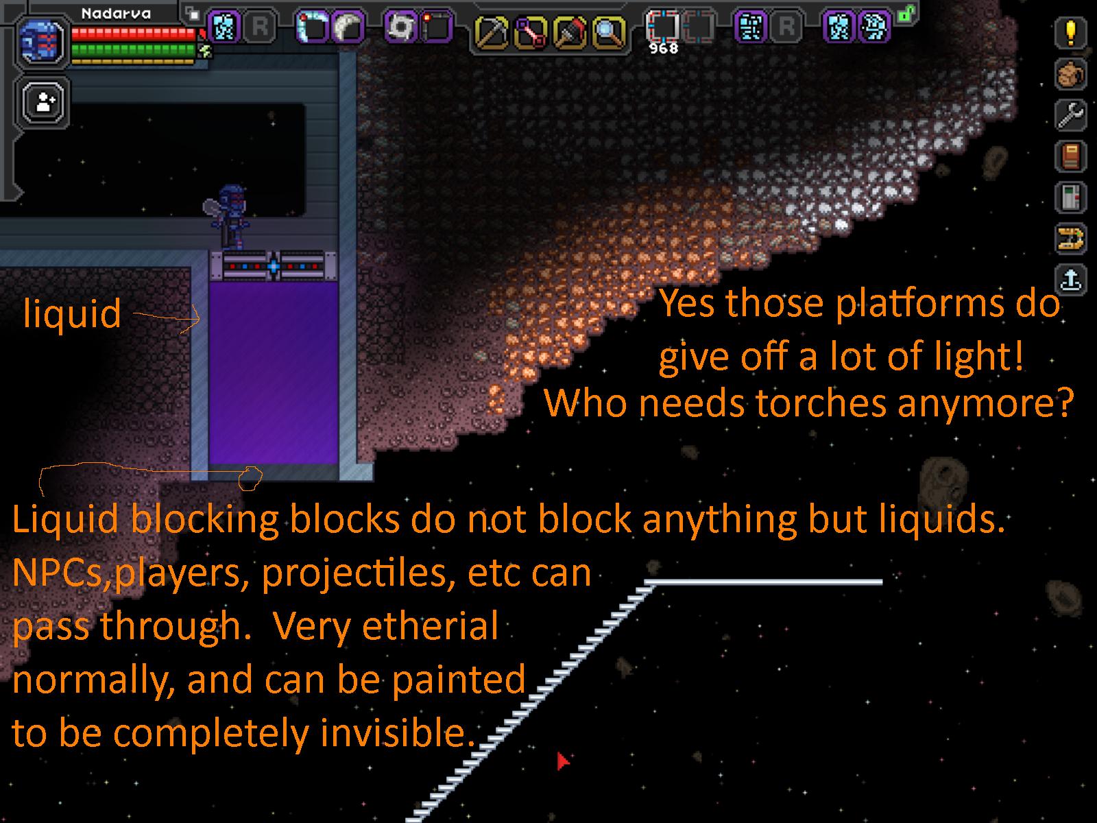 liquid-blocking blocks and lighted platforms.png