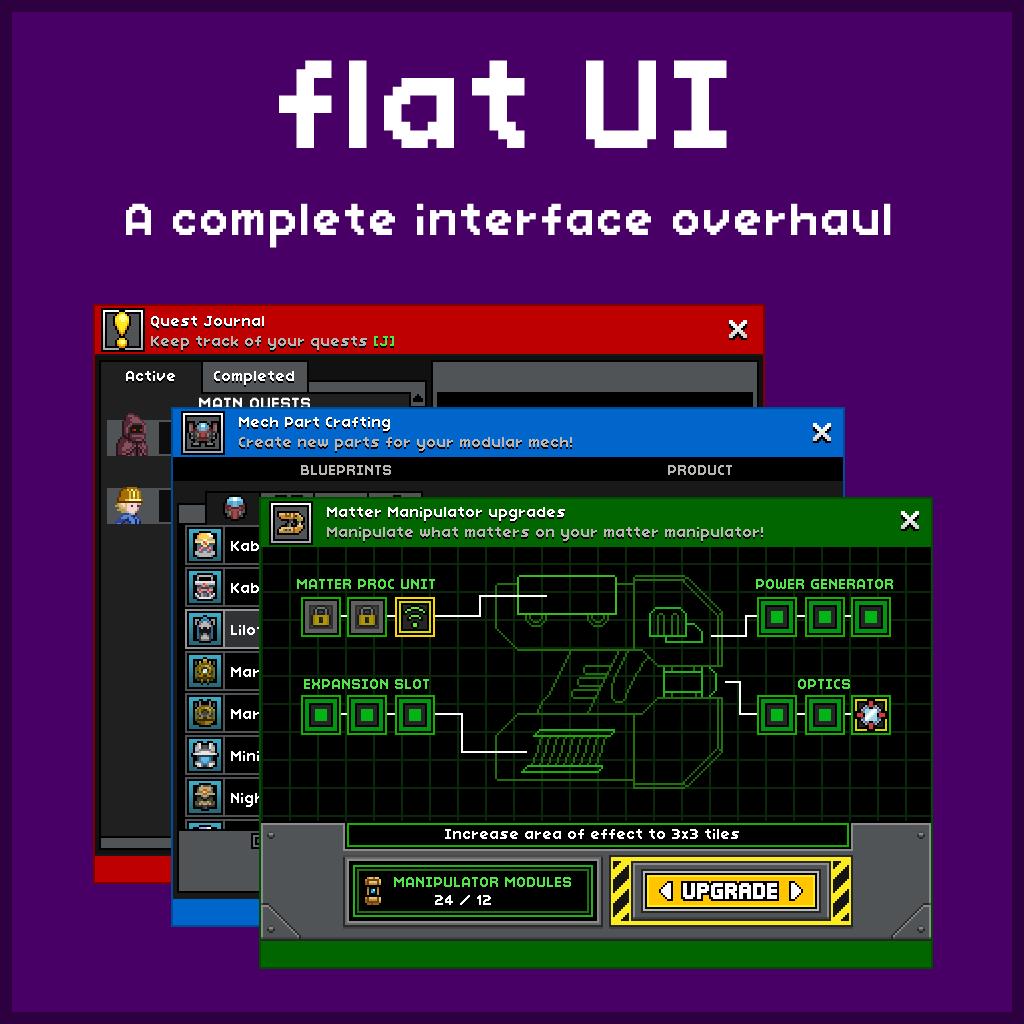 flat UI | Chucklefish Forums